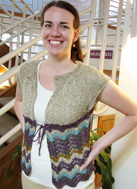 Knitting Gallery - Drawstring Raglan Erin