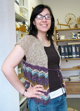 Knitting Gallery - Drawstring Raglan Stefanie