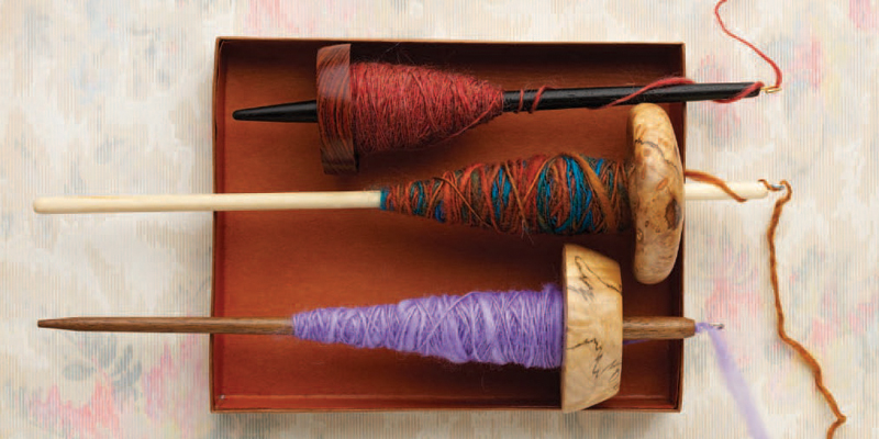 Learn about drop spindle spinning in this free guide.