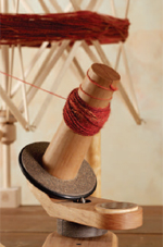 Chosing spindle whorls for different styles of yarns + managing your yarn.