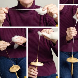 Learn different techniques about spindle spinning in this free ebook.
