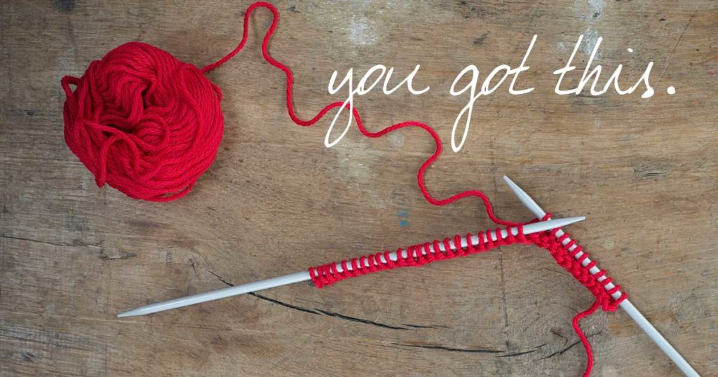 How to Fix a Dropped Stitch at the End of a Row