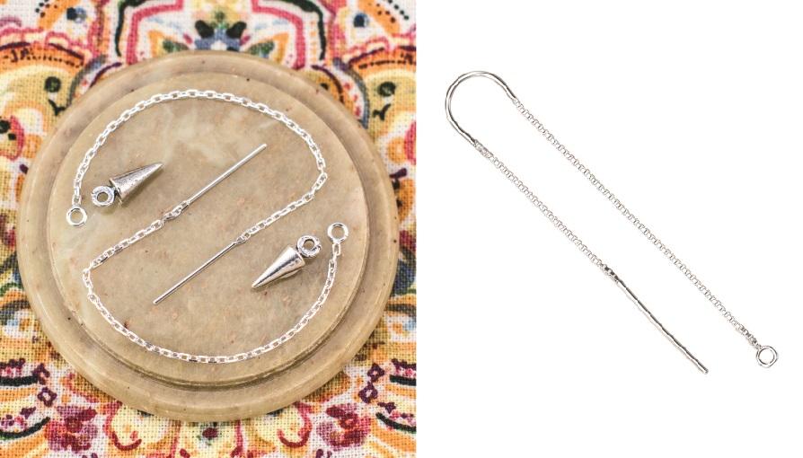 perk up earrings with earring threaders