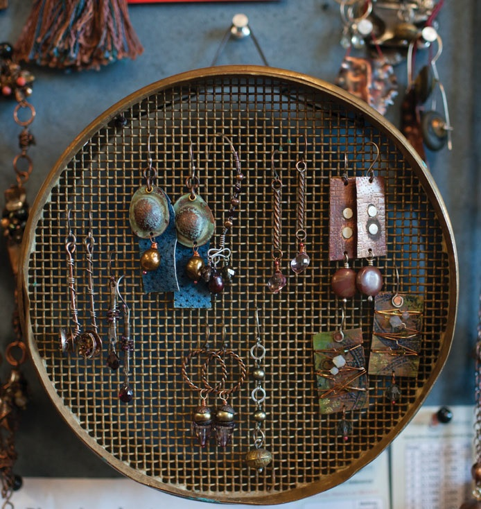 learn to make earrings and much more in Metalsmithing Made Easy with Kate Richbourg
