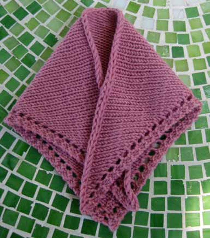 Easy Shawl Knitting Pattern Free : Knitted prayer shawl patterns you ll love to make or give