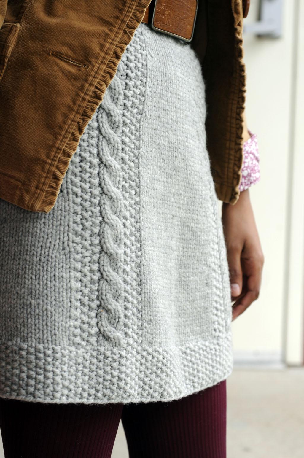Knitting Skirt Tutorial : Bryn mawr skirt interweave