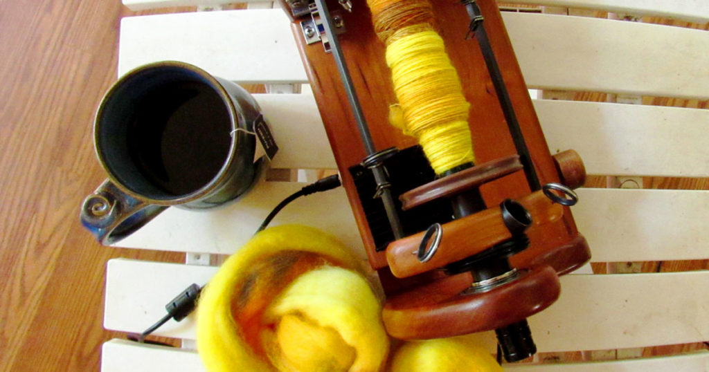 Her Handspun Habit: 6 Tips for Making Better Yarn with Your Electric Spinner (Part I)