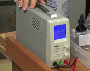 Learn about a rectifier for electroforming jewelry.