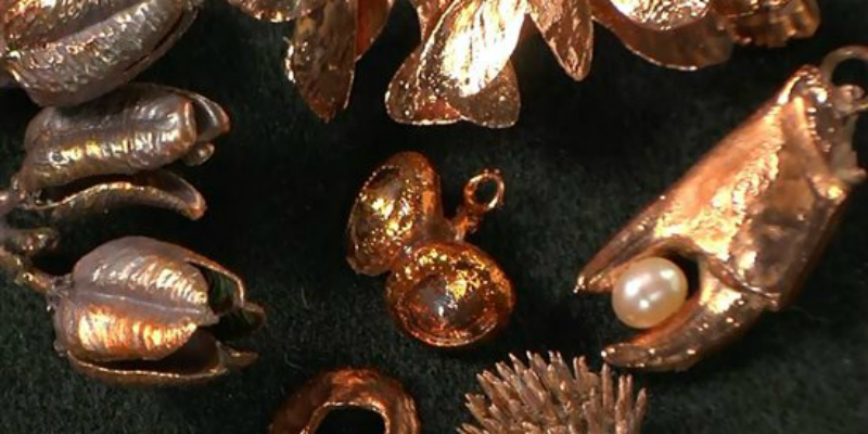 Metal Magic: Electroforming Organic and Other Materials for Jewelry Making