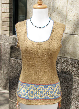 Knitting Gallery - Elinor Tunic Bertha