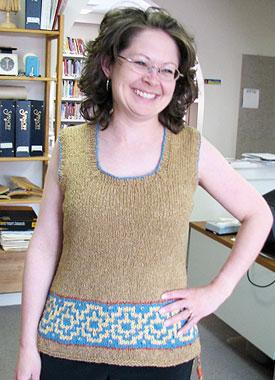Knitting Gallery - Elinor Tunic Debbie