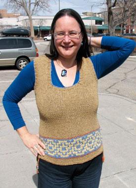 Knitting Gallery - Elinor Tunic Sandi