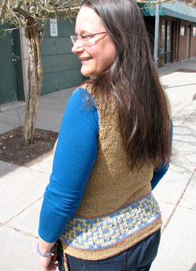 Knitting Gallery - Elinor Tunic Sandi Back