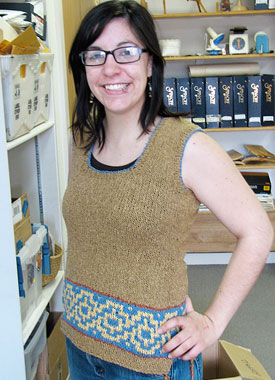 Knitting Gallery - Elinor Tunic Stefanie