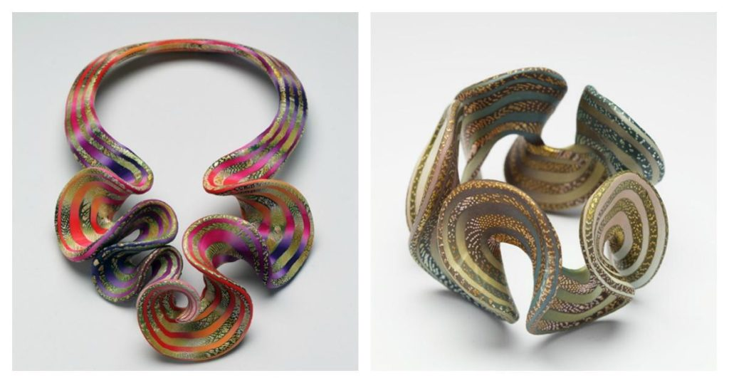 polymer clay jewelry by Elise Winters