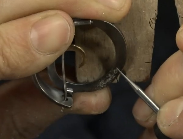 how to engrave and carve with a super tiny ball bur and a flex shaft