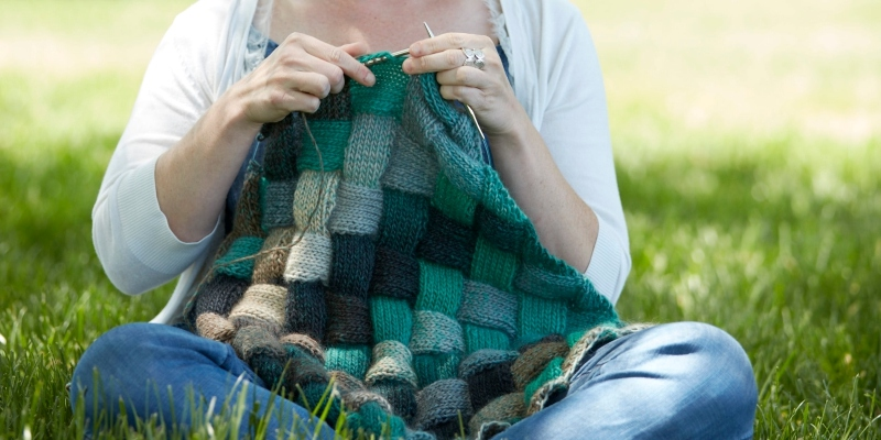 Block by Block: Knitting Entrelac