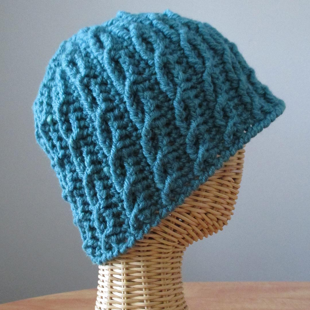 Entwined in Cables Hat