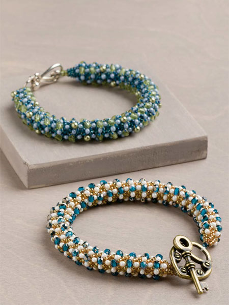 Bella Corda Bracelet Beadwork Pattern