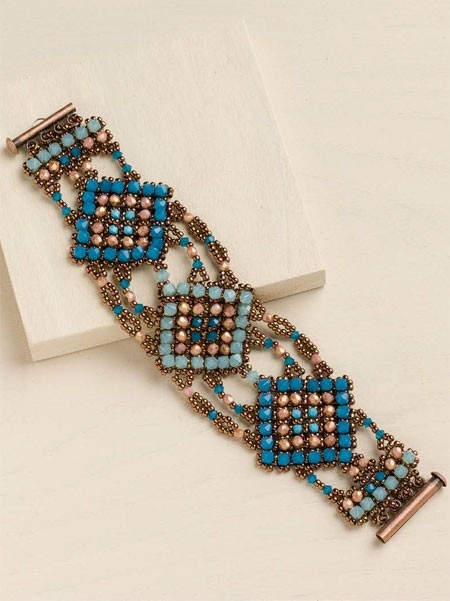 Moroccan Essence Bracelet by Barbara Falkowitz and Amy Haftkowycz