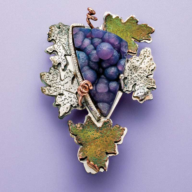 5 Favorite Jewelry Making Projects That Surprise Us, Lexi Erickson, grape cluster pendant