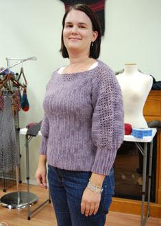 Knitting Gallery - Dusk Sweater