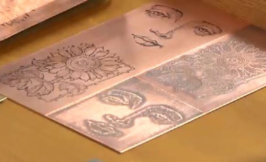 metal etching: how to etch copper
