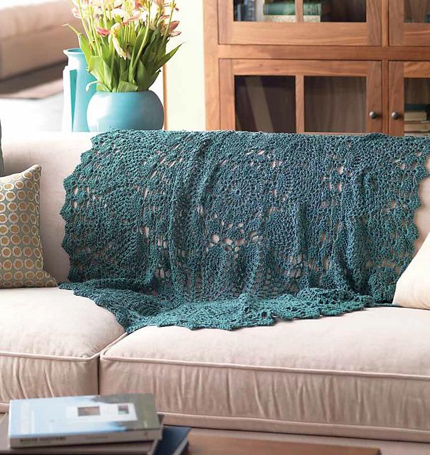 exploded pineapple crochet afghan by Doris Chan | CrochetMe.com