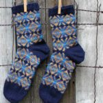 Medallion socks