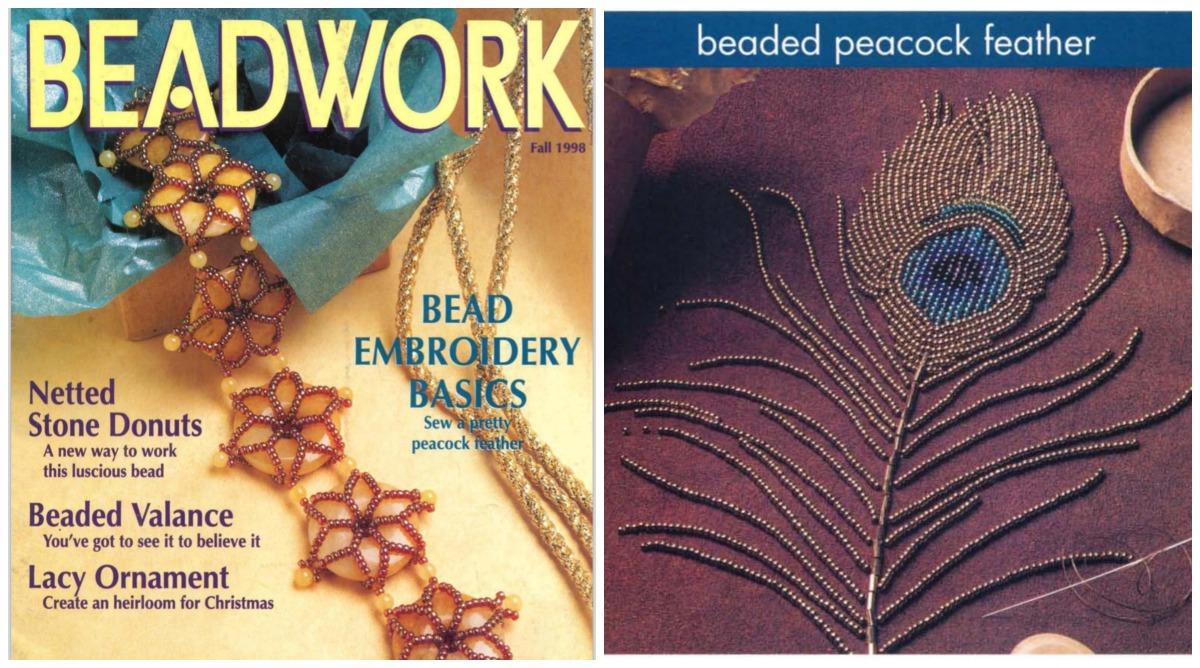 Throwback Thursday Beadwork magazine