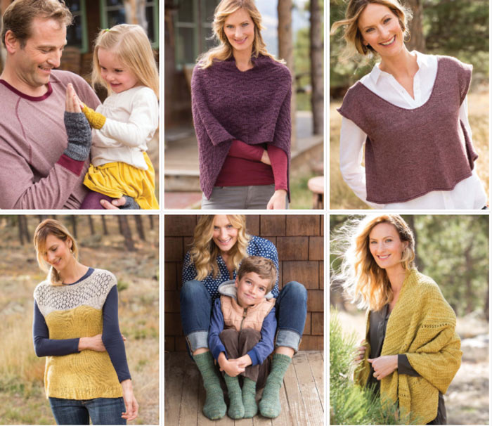 Knit Sweater Patterns (and more!) for the Whole Family