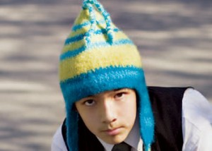How to make a felted crocheted hat in this free guide.