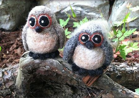 felted-owls
