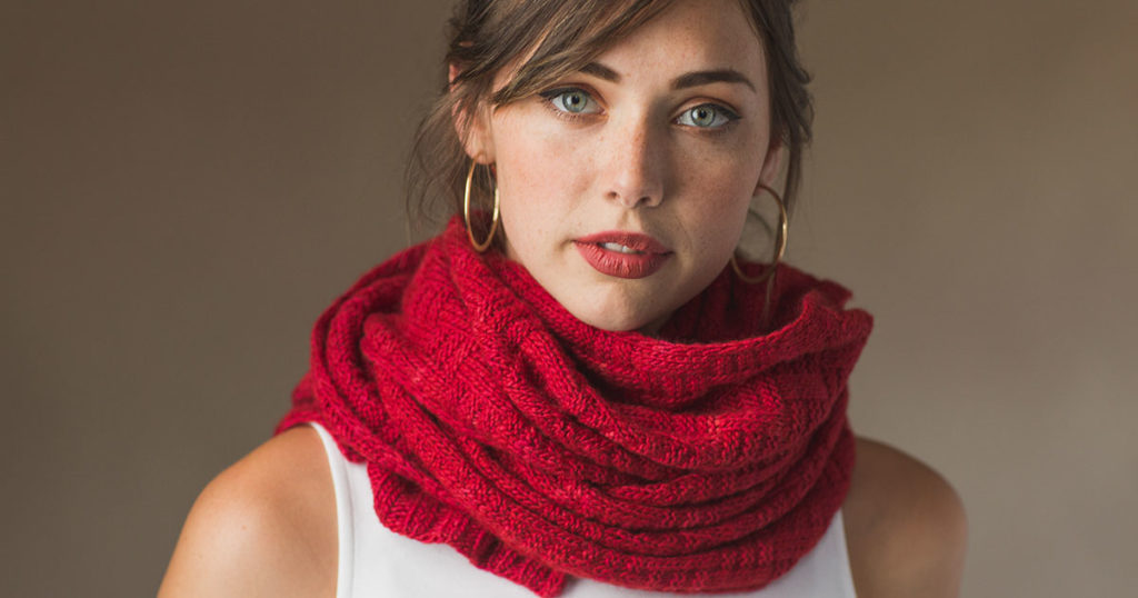 Pattern of the Week: The Firenze Scarf