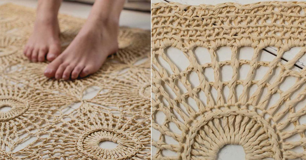 A Raffia Crochet Project to Brighten Your Life