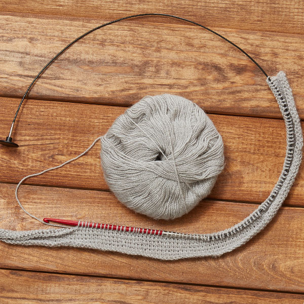 Tunisian simple stitch