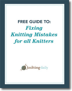 Learn everything you need to know about fixing knitting mistakes in this exclusive FREE eBook.