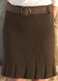 Flirty Skirty Knit detail