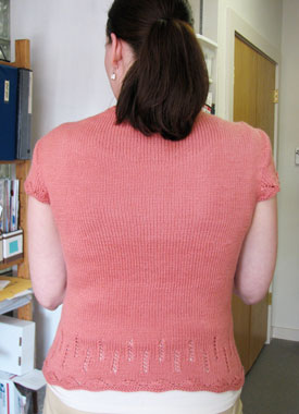 Knitting Gallery - Folded Cowl Tee Erin