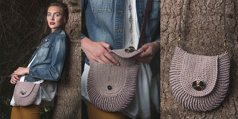 Pattern of the Week: Folk Tale Purse and a Guide to Reverse Single Crochet