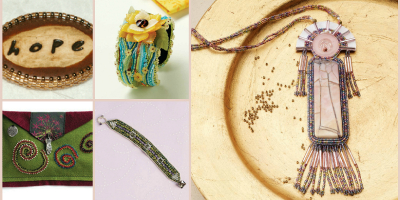 Check Out Our Free Bead Embroidery eBook, Now With More Bead Embroidery Techniques!