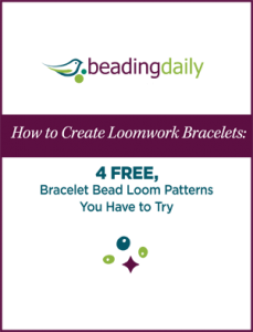 You'll love these 4 FREE bracelet bead loom patterns and instructions.