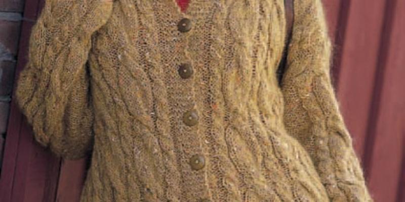 7 Free Knit Cardigan Patterns!