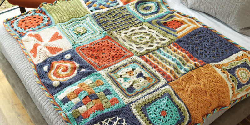 Crochet Afghan Patterns How To Modify Afghans To Any Size Interweave Inspiration Afghan Patterns
