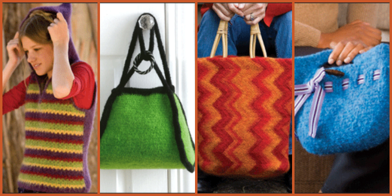 How to Felt Crochet with 4 Free Felting Crochet Patterns