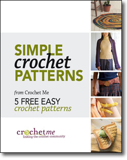 You'll love these free, easy crochet patterns for beginner crocheters!