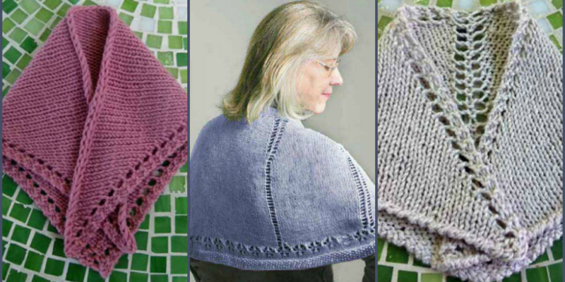 3 Free Knitted Prayer Shawl Patterns: Knit One for Someone in Need
