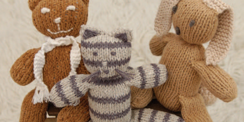 Five FREE Knitted Toy Patterns You'll Love Knitting!