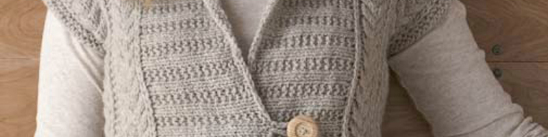 5 Free Knitted Vest Patterns