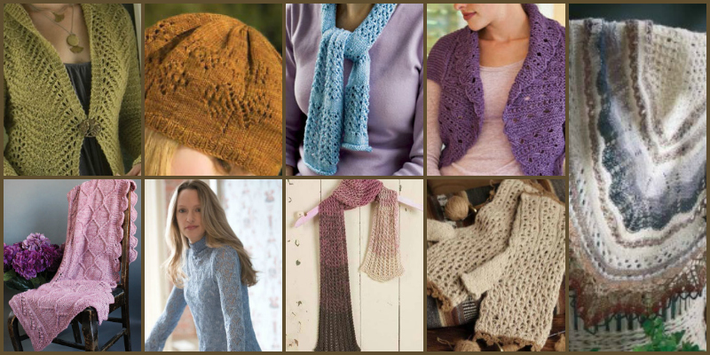 Knitting Lace: 10 Free Knitted Lace Patterns